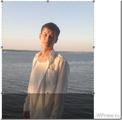 Видимый участок аватара