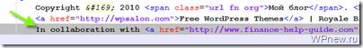 Как убрать закодированные ссылки в футере WordPress (в подвале)