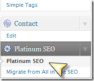 Плагин Platinum SEO Pack для SEO оптимизации