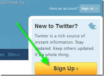 Твиттер на русском регистрация