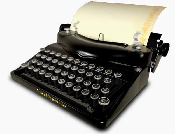visual-typewriter