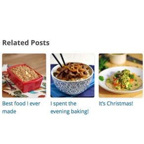 Похожие статьи с Wordpress Related Posts