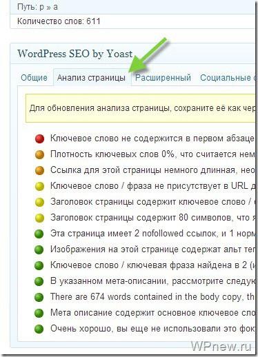 Плагин WordPress SEO by Yoast