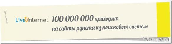 Статистика liventernet