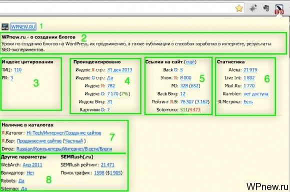 RDS bar Google Chrome