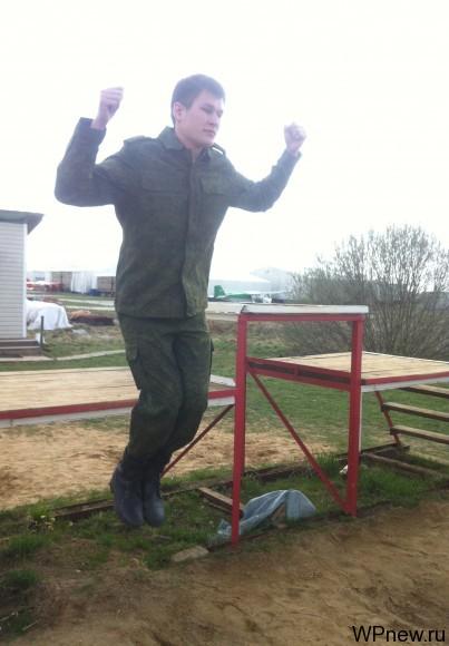 Тренировка приземления