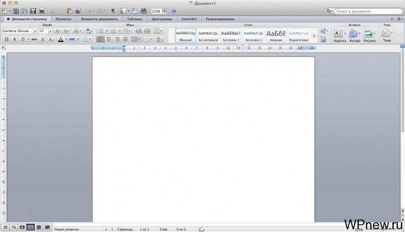 Microsoft Word на Mac