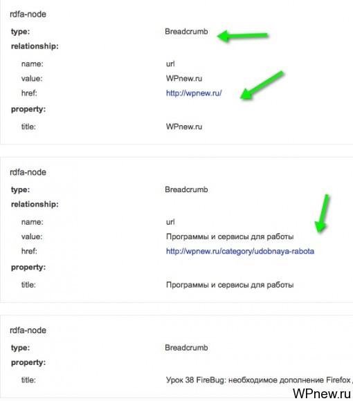 Валидатор микроразметок Google