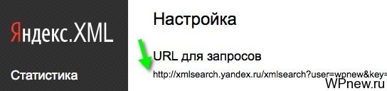 URL запросы Яндекс XML