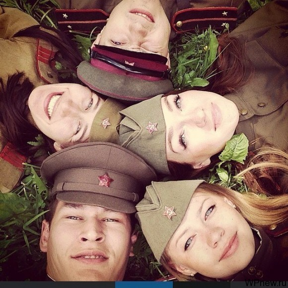 Круг военных :)