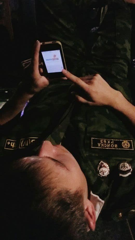 Работаю в армии с телефона (WPnew)