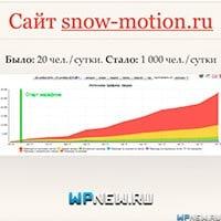 График Snow-motion