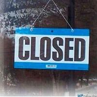 Продажи закрыты