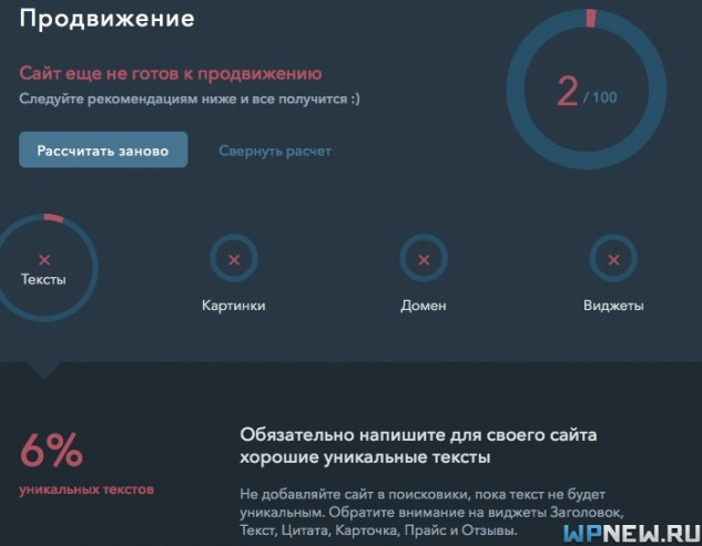Статистика uKit