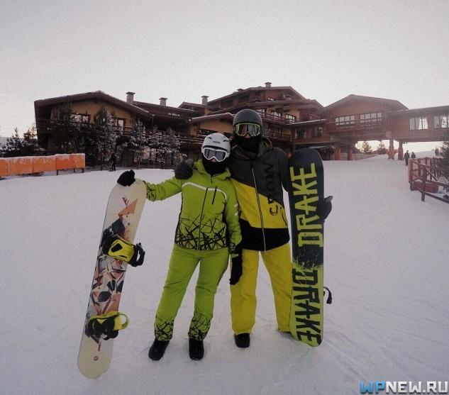 В Казани со сноубордами