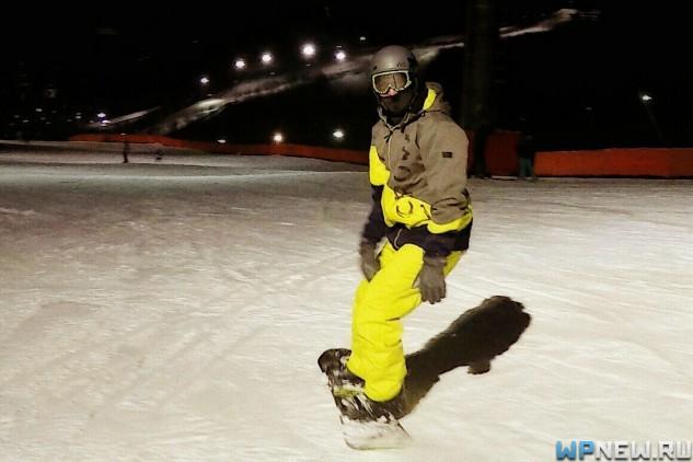 Петр WPnew на сноуборде