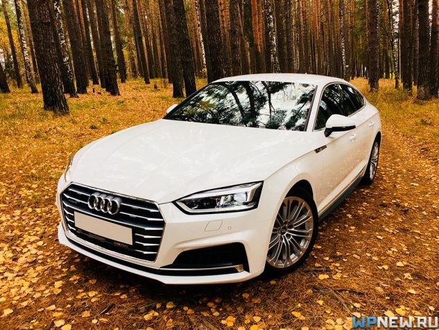 Очень красивая Audi :)