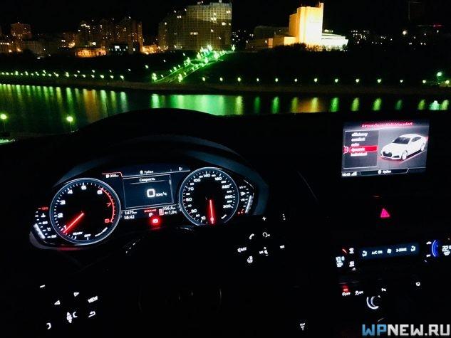 Просто космический салон в Audi A5